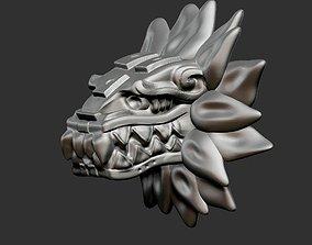 Quetzalcoatl 3D print model