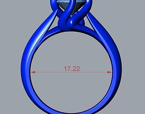 ENGAGEMENT RING STL AND 3DM FILE FOR DOWNLOAD AND 3