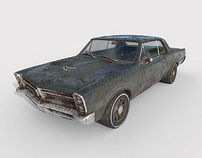 3D model Abandoned Car 62