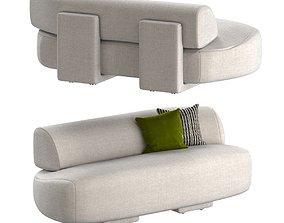 Moroso Gogan Sofa 3D model