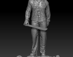 3D print model Jason Friday the 13th