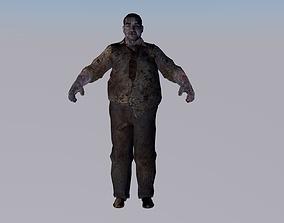 dead 3D model Corpse