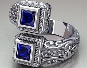 3D fashion-ring Ring model 364