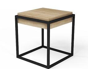 Modern Nightstand nightstand 3D model