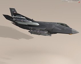3D model F35A - Royal Air Force