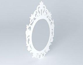 3D Baroque mirror