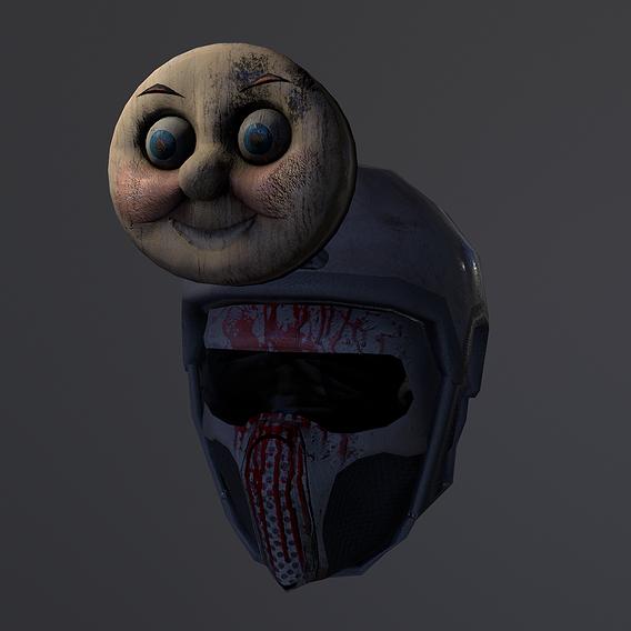 Mr. Shocking helmet