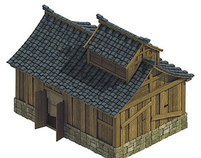 Heyang City - House 03 3D model