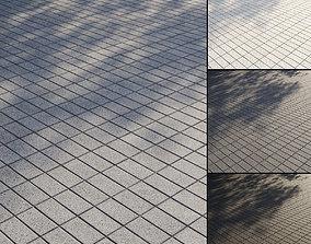Granite paving slabs Type 3 3D PBR