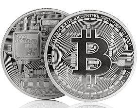 Bitcoin 3D printable model art