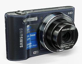 Samsung WB30F Cobalt Black 3D asset