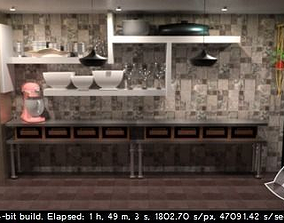 3D printable model Chef Sample