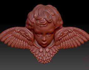 christian 3D print model angel