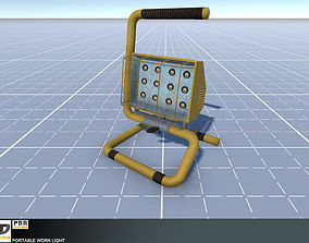 3D model low-poly Portable Work Light