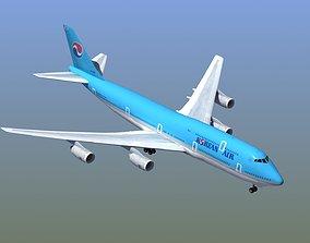 3D model B-747 Korean Air