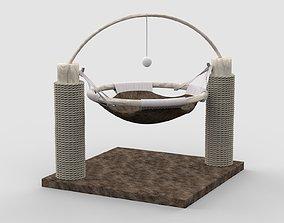 Cat Tree House 3D Model