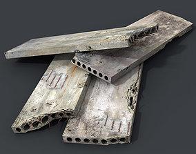 3D asset Concrete slabs