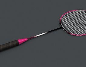 3D model Badminton Racquet
