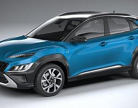 3D Hyundai Kona 2021