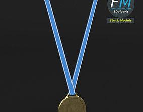 Sport medal 3D model