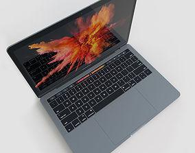 Apple MacBook Pro 13 Touch Bar 2016 3D asset