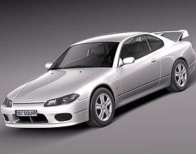 3D Nissan 240 sx Silvia S15 1999-2002