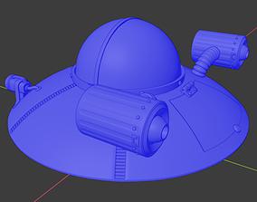 Flying Saucer Toy 3D printable model