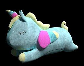 3D Unicorn soft toy