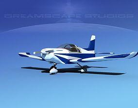Zlin Z 242 V06 3D model