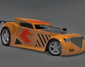 Titan Hotrod 3D model