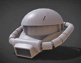 MS-06 ZAKU II Head 3D print model