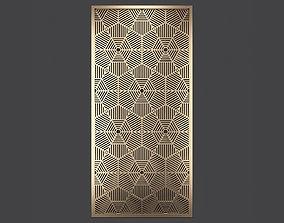 Decorative panel 332 3D