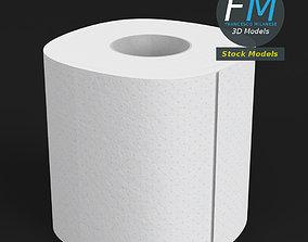 3D model Toilet paper 2