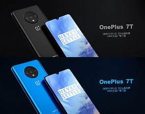 OnePlus 7T cell phone 3D