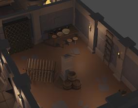 Modular Dungeon Set 3D model