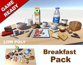 Breakfast Pack 3D model