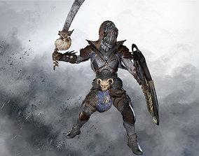 Undead Warrior Remaster 3D asset