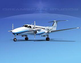 Beechcraft 350 Super King Air V10 3D model