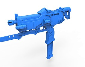 3D printable model Gun of Sombra from the game Overwatch