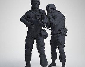 two Assault 3D printable model