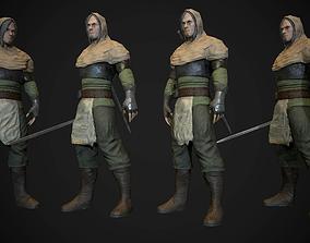 The wanderer 3D model