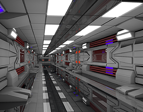 3D model science Sci Fi Interior