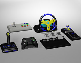 3D model Video Game Controllers