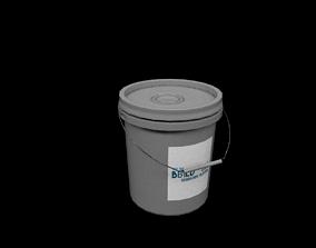 PBR Bucket 3D asset