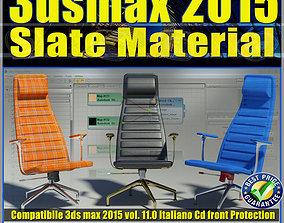 3ds max 2015 Slate Material v 11 Italiano cd