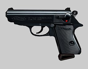 3D asset Walther PPK