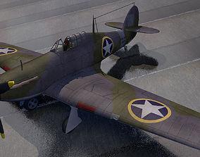 Hawker Sea Hurricane - USAF 3D