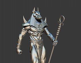 3D printable model anubis god stl SLA or SL printers