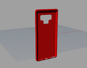 3D printable model Samsung Galaxy Note 9 Red casE