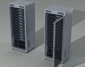 3D model Server rack